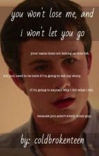 You Won't Lose Me, And I Won't Let You Go (Joshler) [completed] by Messagephangirl