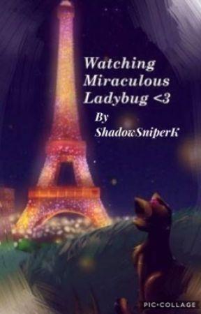 Watching Miraculous Ladybug  by Knightingale_14