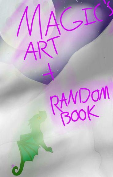 My art And Random Book Cause Yeah