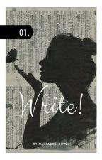 Write! by Mahtabmehboodi