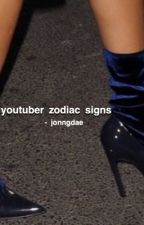 youtuber zodiac signs by jonngdae