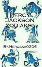 Percy Jackson zodiaks  by Heroska0206