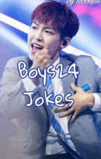 BOYS24 JOKES by wooojin