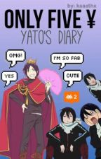 Only 5¥, Yato's diary [[noragami]] by loooreeexx