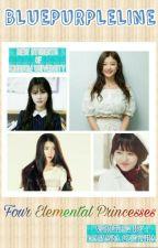 Kingdom University: Four Elemental Princesses  by BluePurpleline