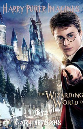 Harry Potter imagines - He gets jealous!-Harry x Reader
