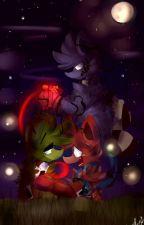 sprintrap x foxy {Siempre Quiero Estar A Tu Lado}   by adelia_the_bunny