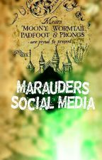 The Marauders Social Media  by potterhead_rabia