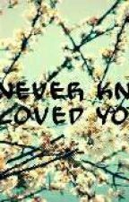 You never knew I loved you  by DyanCa