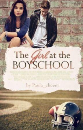 The girl at the boyschool  by Paula_cheeer