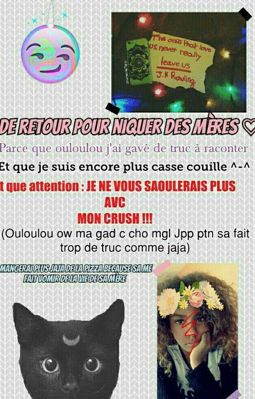 JE SUIS UNE CHÈVRE CASSE COUILLES !!! by xv-Alyssa-vx
