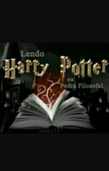 Marotos lendo Harry Potter e a Pedra Filosofal
