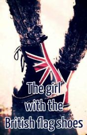The Girl with the British flag shoes by Alanguage
