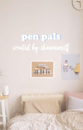 ❝ pen pals ❞ - shawn m.