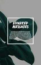 hundred messages ; bangtan boys by hiataetus
