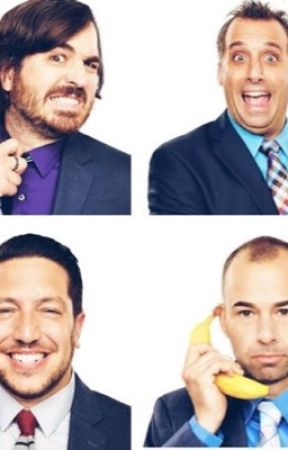 Impractical Jokers  by WritingTheThings