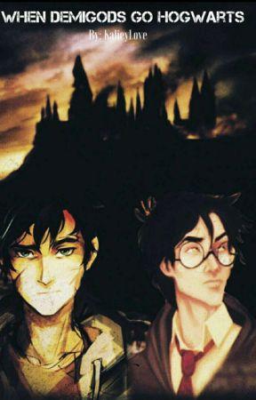 When Demigods Go Hogwarts by DitzyAndStubborn