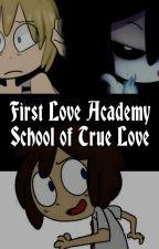 First Love Academy School of True Love (Golden x Freddy x Fred) FNAFHS. by -manuu