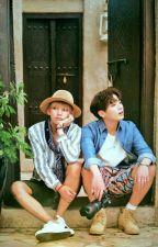 Jeon Jungkook dan Kim Taehyung by luhdesuryani