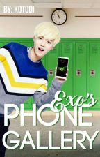 EXO's Phone Gallery ↪ EXO by Kotodi