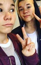 Mig og Marcus by celiamm_