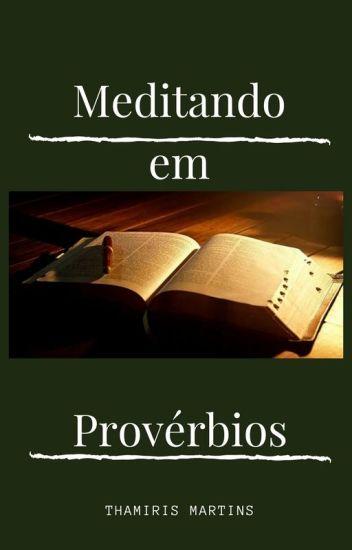 Meditando em Provérbios