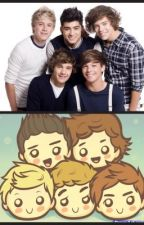 One Direction in Anime by Ravustics