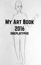 My 2016 Art Book by oneplatypus