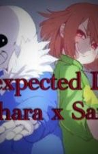 Unexpected Love (Chara x Sans) by flowerfellfrisk_