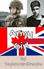 Army Girl *Done* by CarryOnWaywardMoose_