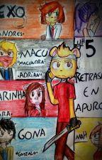 5 Retrasados En Apuros by La_Vaca_89