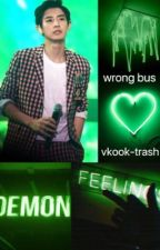wrong bus ||vkook|| by vkook-trash