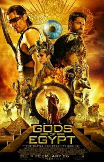 Gods Of Egypt (Horus AU Fanfiction)