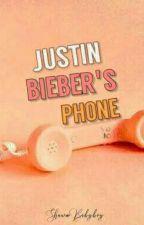 Justin Bieber's Phone ✔ by ShawnBabyboy