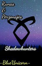 Runas & Personajes Shadowhunters  by -BlueUnicorn-