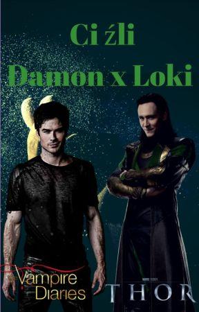 Ci źli | Damon x Loki by ziomoleo