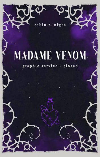 Madame venom - Servizio grafica