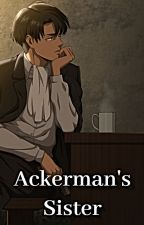 Levi x Older Sister Reader by Maple5