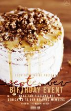 [SEPTEMBER] Staff Birthday Event by flowdememoire