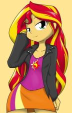 Sunset Shimmer's help by theLostMaleReader324