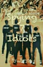 Spying 7 Idiots (BLACKPINK & BTS) by _jheyga