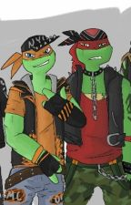 TMNT punk boyfriend scenarios by Rose_7856