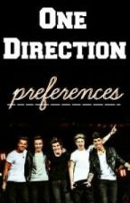 One Direction Preferences by jlaflare