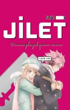 Jilet-Texting ~Nalu~ by unemployedqueen-sama