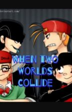 When two worlds collide by Kitty22012