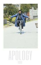 apology. + kristao by hooshit