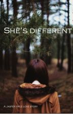 She's different ||Jasper Hale|| by Kdog20011