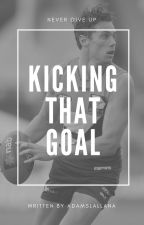 Kicking That Goal | Josh Kelly by _BubblesInTheSky_