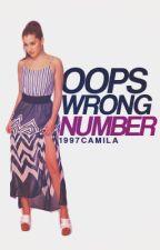 Oops! Wrong Number ; Camren Texts  by nofiltercamren