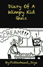 Diary Of A Wimpy Kid Quiz by Potterhead_Diya